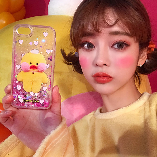 FANFANCHUU yellow duck phonecase