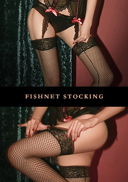 Fishnet Lingerie Stocking
