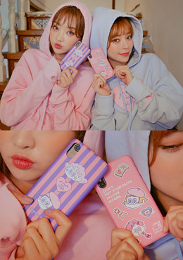 LEEGONG pinknoir secret diary phone case